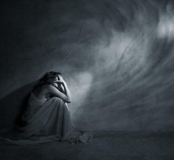 La depresión aplasta y entumece el alma